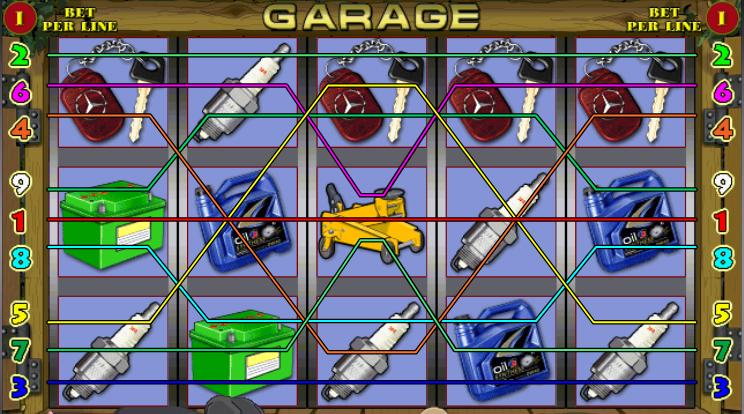 Игровой автомат Гараж Garage играть бесплатно без регистрации