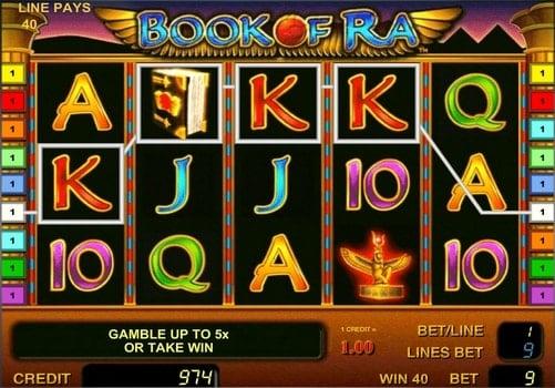 Book of ra - бесплатный игровой автомат