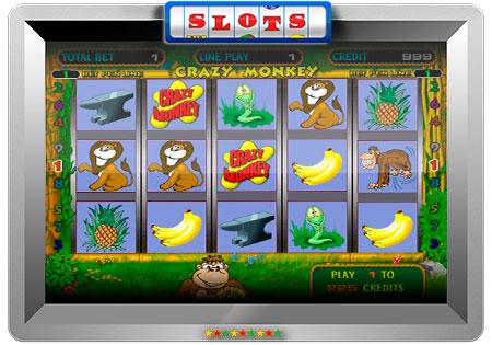Crazy Monkey Игровые автоматы играть бесплатно без.