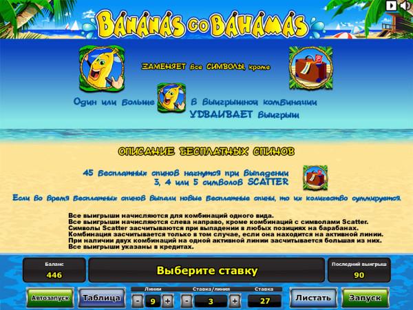 Игровой автомат Бананы, Бананы Едут На Багамы Bananas Go Bahamas.